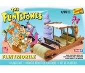 Model plastikowy - Samochód Flinstones Flintmobile - Lindberg