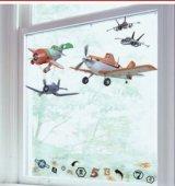 Statyczne naklejki na okno Samoloty Planes Disney