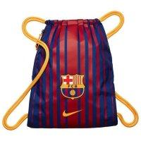 Worek na buty Nike fc barcelona stadium football bordowo-granatowy w paski