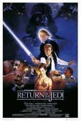 Star Wars Gwiezdne Wojny - Powrót Jedi - plakat