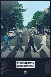 The Beatles Abbey Road Tracks - plakat