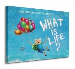 Pora na przygodę - What is Life? - Obraz na płótnie