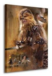 Gwiezdne Wojny Star Wars Episode VII (Chewbacca Art) - obraz na płótnie