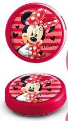 Lampka Myszka Mini na baterie nocna Minnie Mouse red