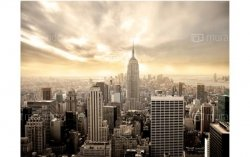 Fototapeta Nowy Jork Manhattan o świcie