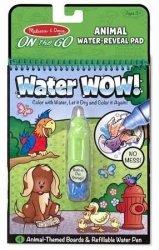 Kolorowanka Wodna Water Wow Zwierzęta Malowanka Melissa 15376