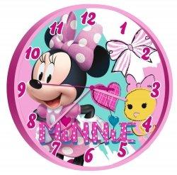 Zegar z Myszką Mini Minnie Mouse Wave