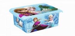Pudełko 10L Frozen Kraina Lodu 2726 pojemnik na zabawki