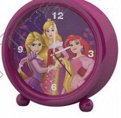 Budzik stojący zegar Księżniczki Disney Princess