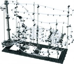 SpaceRail Tor Dla Kulek - Level 8 (40 metrów) Kulkowy Rollercoaster