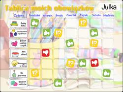 Tablica Magnetyczna, Mata Motywacyjna Dla Dzieci Kolorowe Kredki