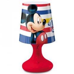 Lampka nocna Disney Myszka Miki biurkowa Mickey Mouse LED pasy