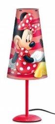 Lampka nocna Myszka Mini na szafkę Minnie Mouse red
