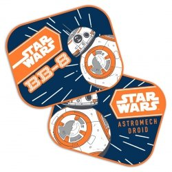 Osłonki Star Wars zasłonki do samochodu BB-8