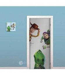Naklejki Toy Story na drzwi