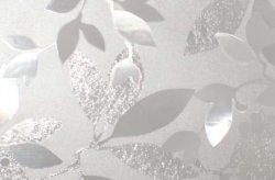 Statyczna folia okienna 67,5x150cm Fantazyjne liście