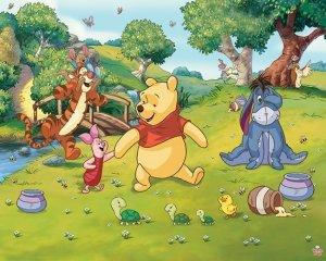 Fototapeta Disney Winnie The Pooh Kubuś