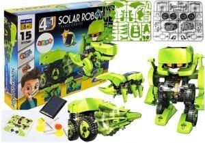 Zestaw Naukowy Robot Solarny 4w1 Tyranozaur Rex Owad