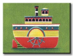 Mississippi Steam Boat - Obraz na płótnie