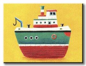 Tug Boat - Obraz na płótnie