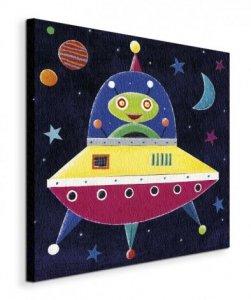 Spaceship - Obraz na płótnie