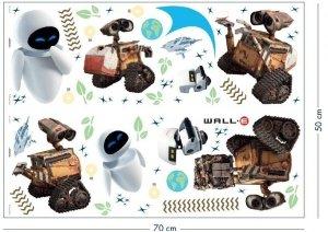 Naklejki WALLE