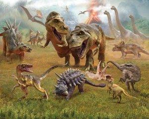 Tapeta 3D Dinozaury II new