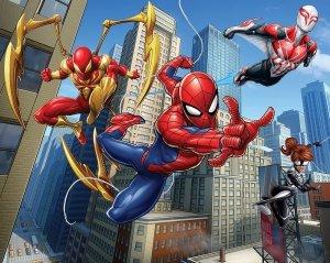 Tapeta 3D Spiderman Mural