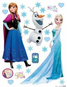 Naklejki Frozen Kraina Lodu naklejka Olaf