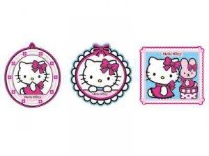 Dekoracje piankowe Hello Kitty