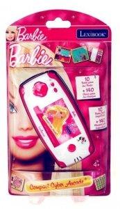 Przenośna konsola Barbie 150 gier