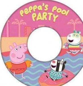 Koło do pływania Świnka Peppa PIG