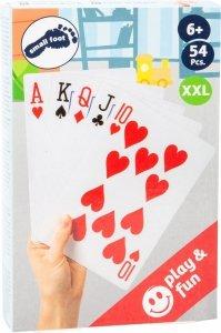Duże Karty do gry 14x21cm XXL