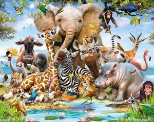 Tapeta 3D Dżungla - Jungle - new