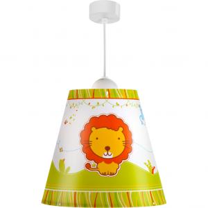 Lampa sufitowa ZOO zwierzątka stożek 21112