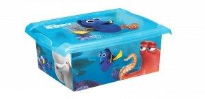 Pudełko 10L Gdzie jest Dory - Nemo 2729 pojemnik na zabawki