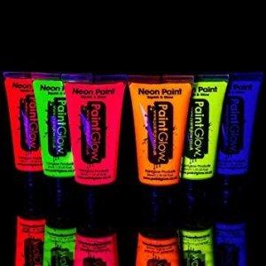 Farba do twarzy i ciała duża 50ml Neon UV