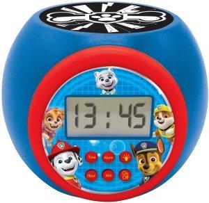 Budzik zegar z projektorem PAW Psi Patrol