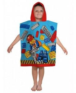 Ponczo Ręcznik kąpielowy LEGO CITY