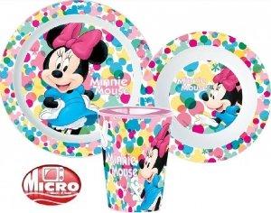 Zestaw obiadowy Myszka Mini Minnie Mouse