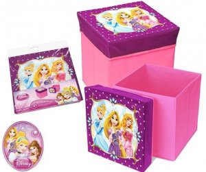 Pufa stołek pudełko Disney Planes Princess Spiderman