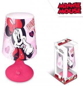 Lampka nocna Myszka Minnie biurkowa Mini Mouse pink