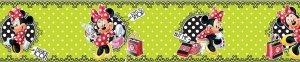 Bord Kropeczkowa Minnie Myszka Mini zielony