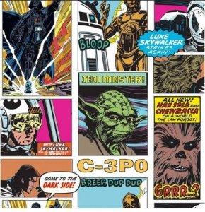 Tapeta Star Wars Gwiezdne Wojny komiksy NEW