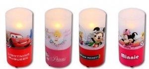 Lampka LED na baterie Disney Cars Princes Mini Miki