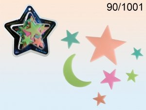 Fluorescencyjne kolorowe gwiazdki GLOW !!