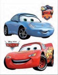 Naklejki Duża Naklejka Cars Auta MQ i Sally