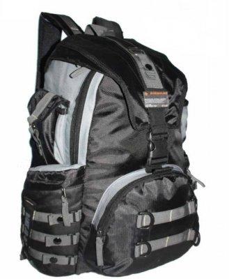 902677610bfd BP171 Plecak Uniwersalny Szkolny Turystyczny Wspinaczkowy Sportowy Miejski  Blogerski Wycieczkowy Kolor czarny szary