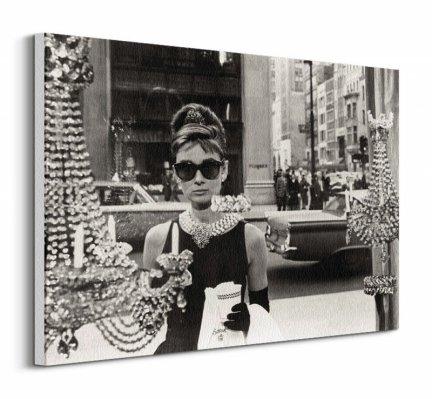 Audrey Hepburn - obraz na płótnie