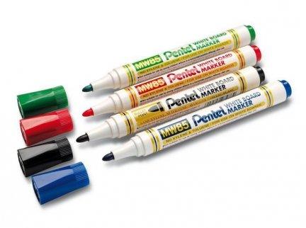 Markery do białych tablic Pentel 4 kolory
